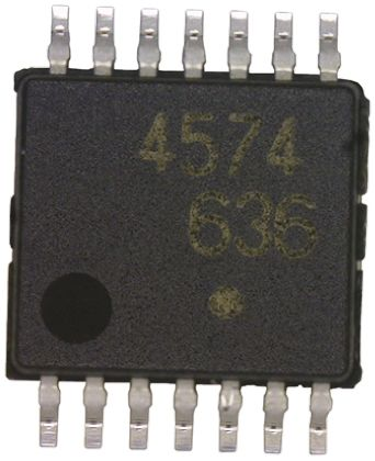 Renesas Electronics UPC177GR-9LG-E1-A , Quad Comparator, Open Collector O/P, 1.6μs 3 → 28 V 14-Pin TSSOP (10)