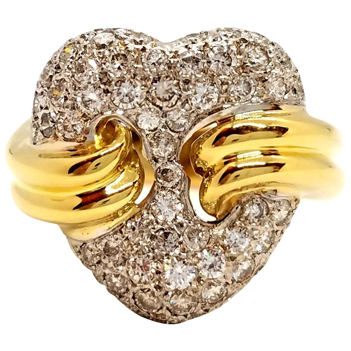 Autre Marque - Bague   pour femme en or jaune - argente
