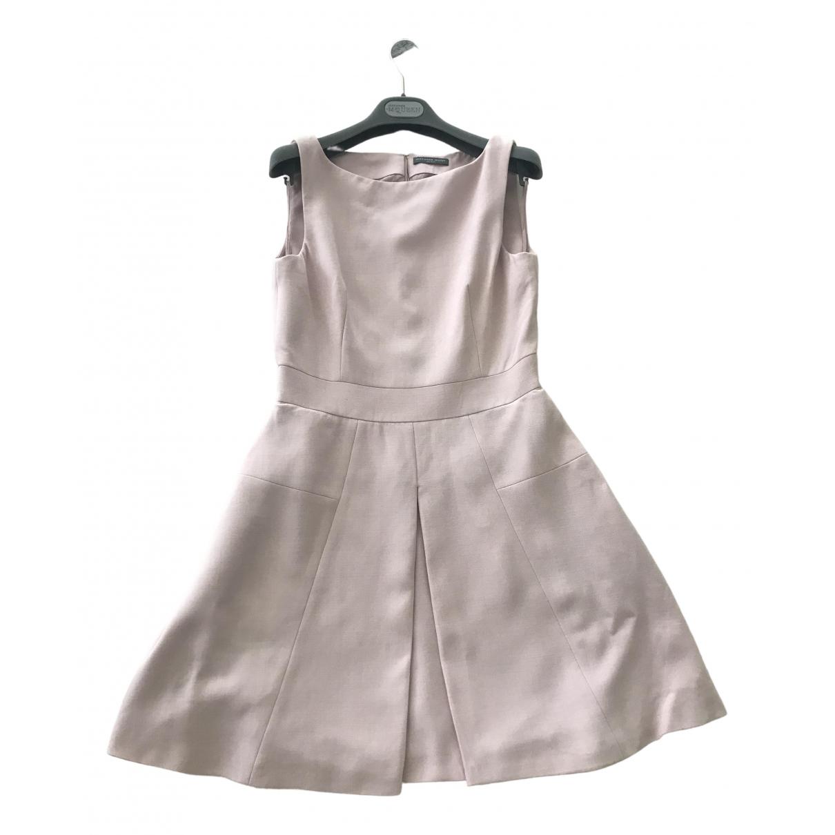 Alexander Mcqueen \N Pink dress for Women 42 IT