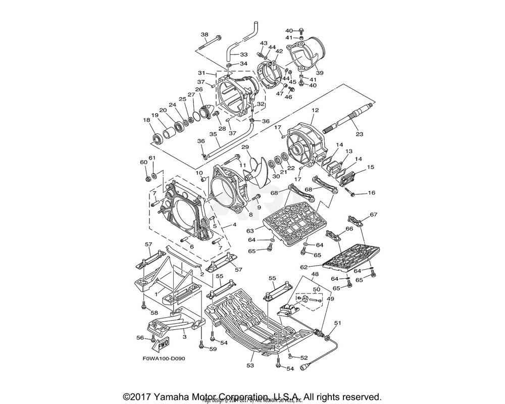 Yamaha OEM 67X-51318-00-94 NOZZLE