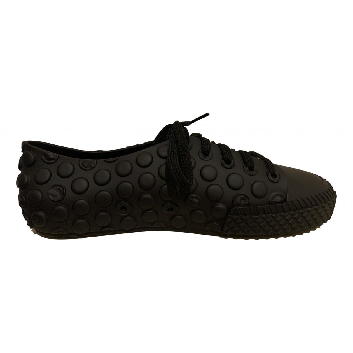 Melissa - Baskets   pour femme en caoutchouc - noir