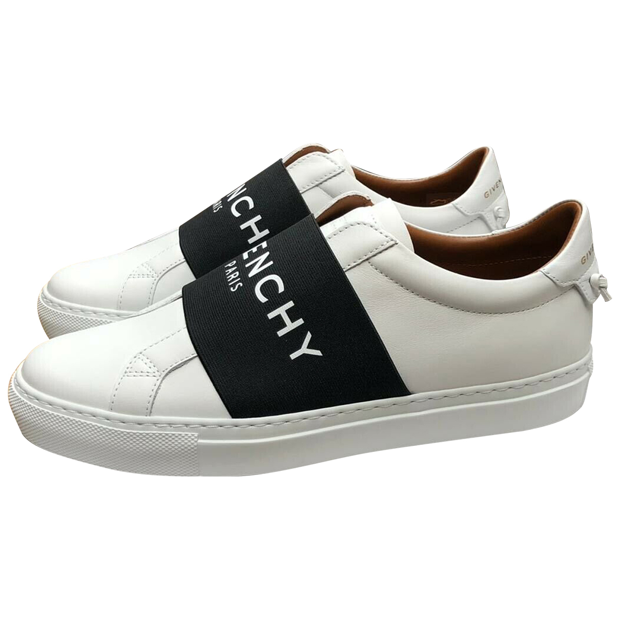 Givenchy \N White Leather Trainers for Women 37 EU