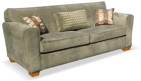 Dixon Collection GDN-CA-26 86 Sofa with Removable Cushions  Made In USA  High-Resilience Convoluted Foam Filled  Solid Pine Wood Construction and