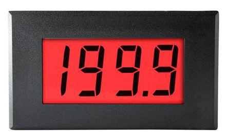 Lascar DPM Series Digital Ammeter DC, LCD Display 3.5-Digits ±0.1 %