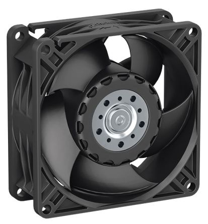 ebm-papst , 24 V dc, DC Axial Fan, 80 x 80 x 32mm, 94m³/h, 5W, IP68