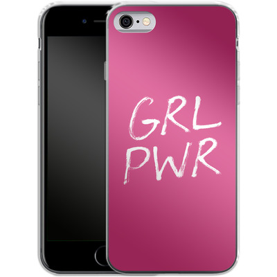 Apple iPhone 6 Silikon Handyhuelle - GRLPWR von caseable Designs