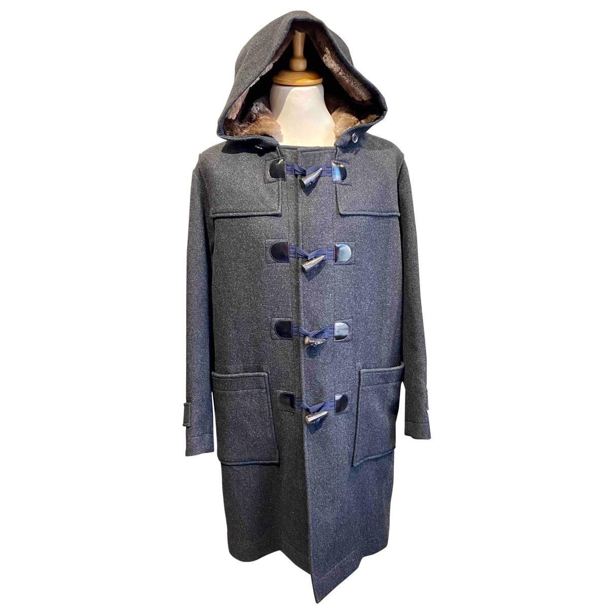 Lanvin \N Grey Wool coat  for Men 52 FR