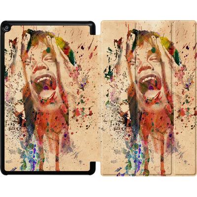 Amazon Fire HD 10 (2018) Tablet Smart Case - Scream von Mark Ashkenazi