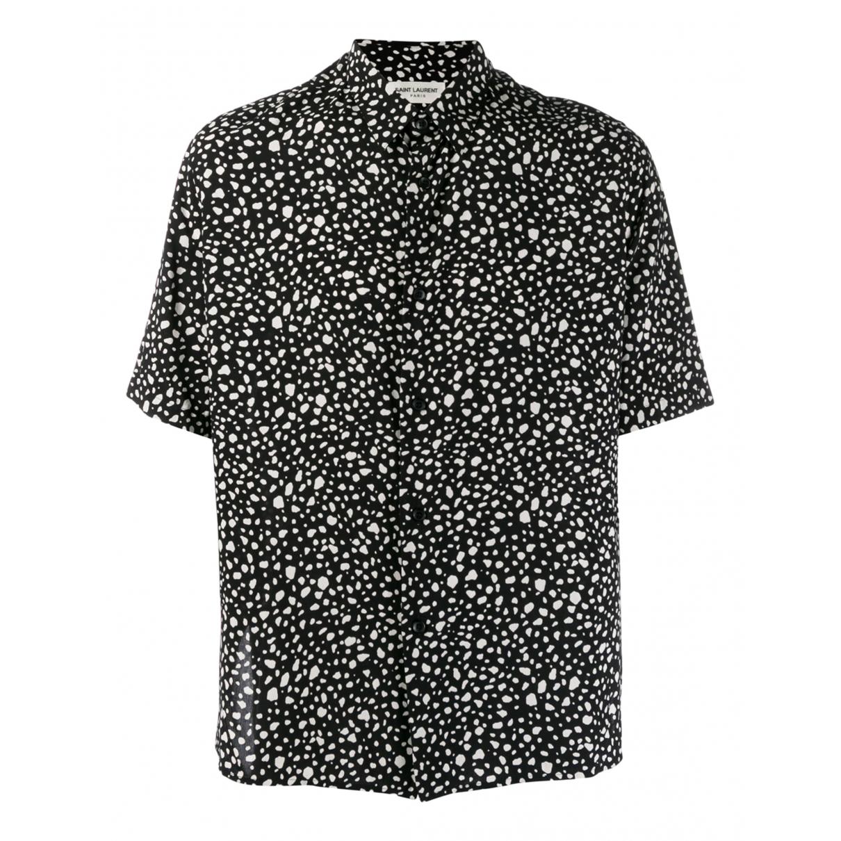 Saint Laurent \N Multicolour Silk Shirts for Men 40 EU (tour de cou / collar)