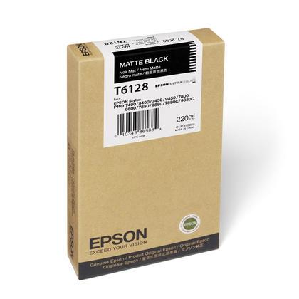 Epson T612800 Original Matte Black Ink Cartridge High Yield