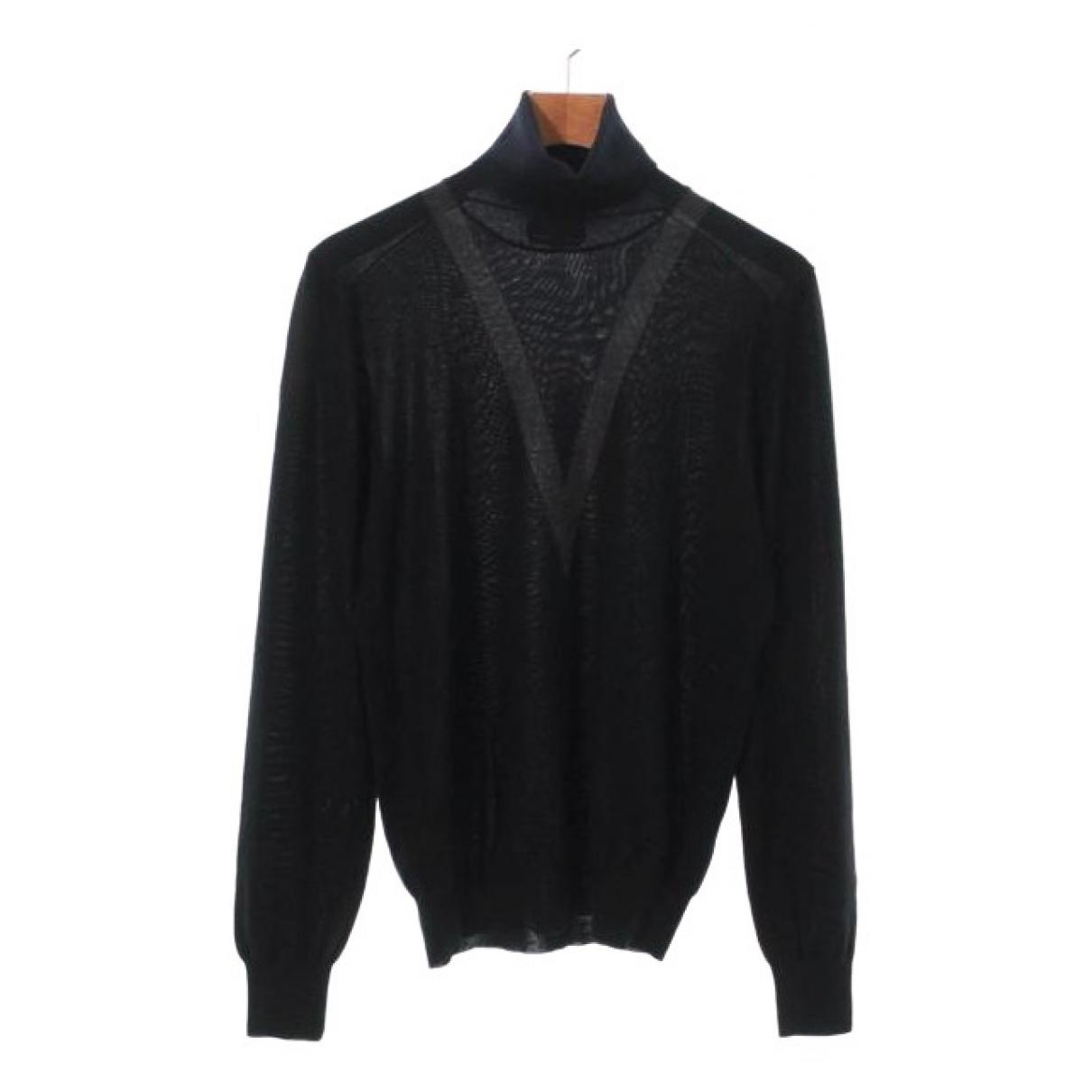 Hermes \N Pullover.Westen.Sweatshirts  in  Schwarz Kaschmir