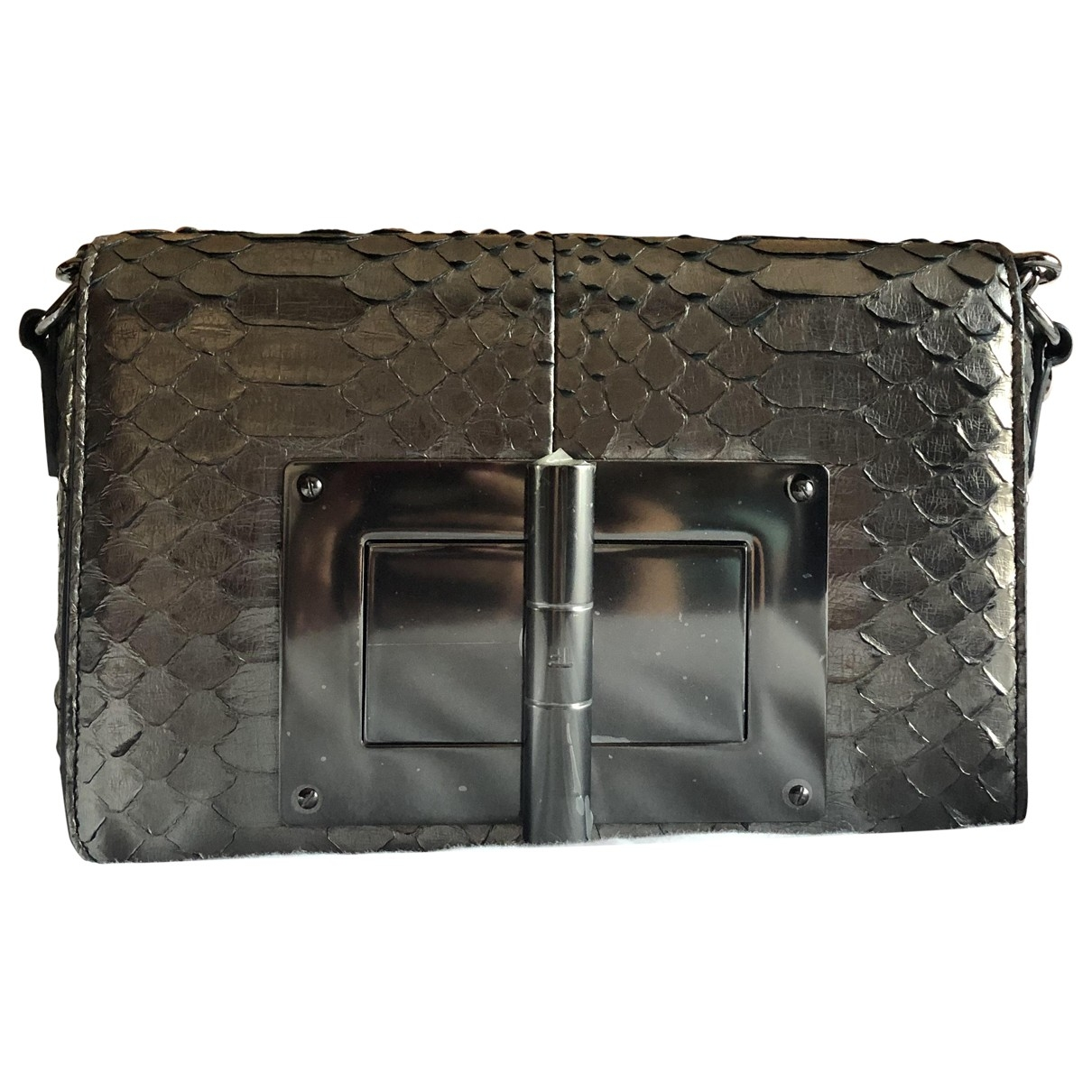 Tom Ford Natalia Metallic Python handbag for Women \N