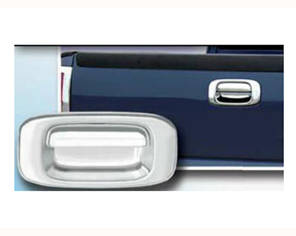 Quality Automotive Accessories ABS | Chrome Tailgate Handle Cover Kit Chevrolet Silverado 2500 2003