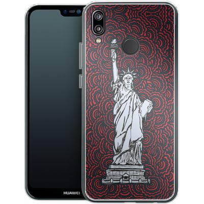 Huawei P20 Lite Silikon Handyhuelle - Liberty von Kaitlyn Parker