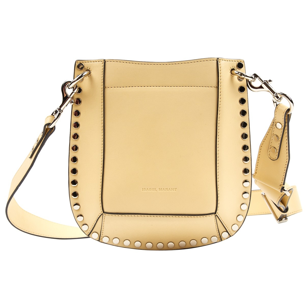 Isabel Marant \N Yellow Leather handbag for Women \N