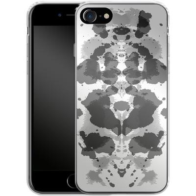 Apple iPhone 8 Silikon Handyhuelle - Mind Games Black von caseable Designs