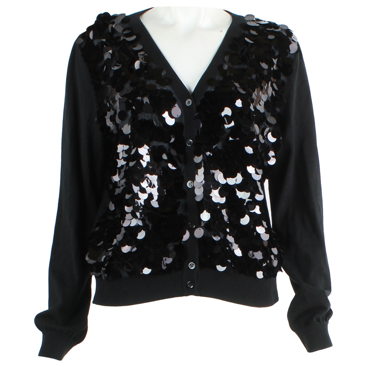Moschino Cheap And Chic \N Black Cotton jacket for Women L International