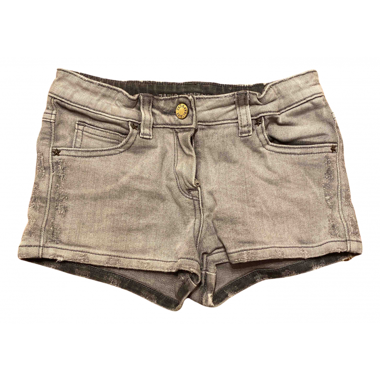 Zadig & Voltaire \N Shorts in  Grau Denim - Jeans