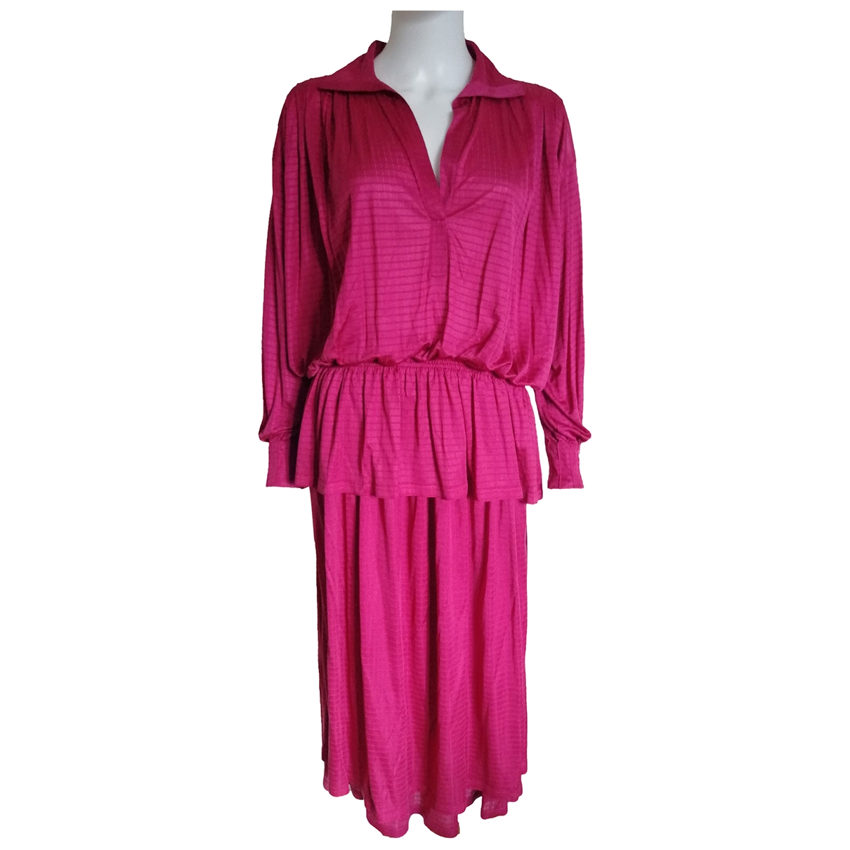 Missoni \N Pink Silk dress for Women M International