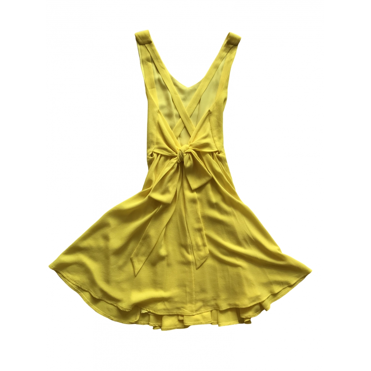 Non Signé / Unsigned \N Yellow dress for Women XS International
