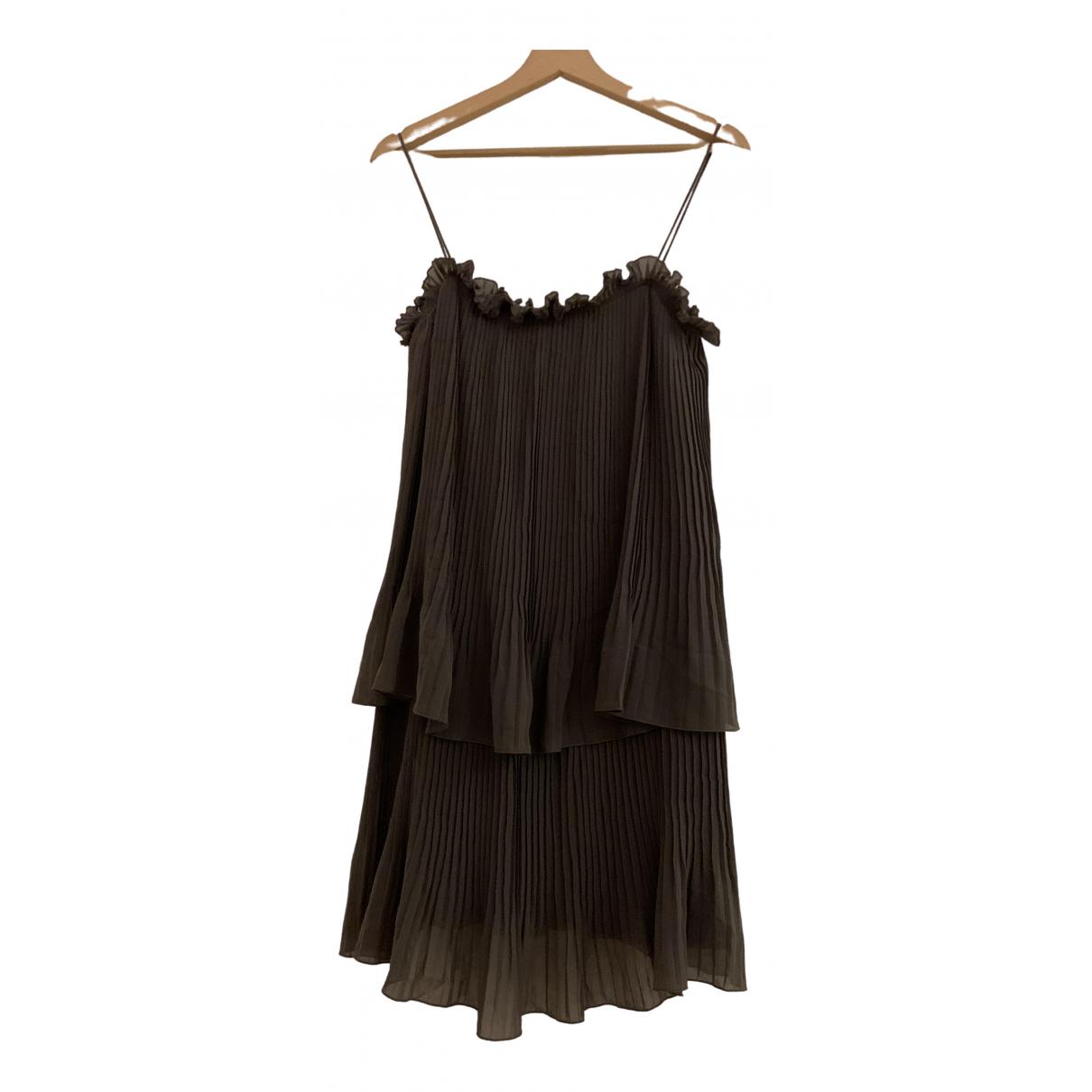 Tara Jarmon \N Anthracite dress for Women 36 FR