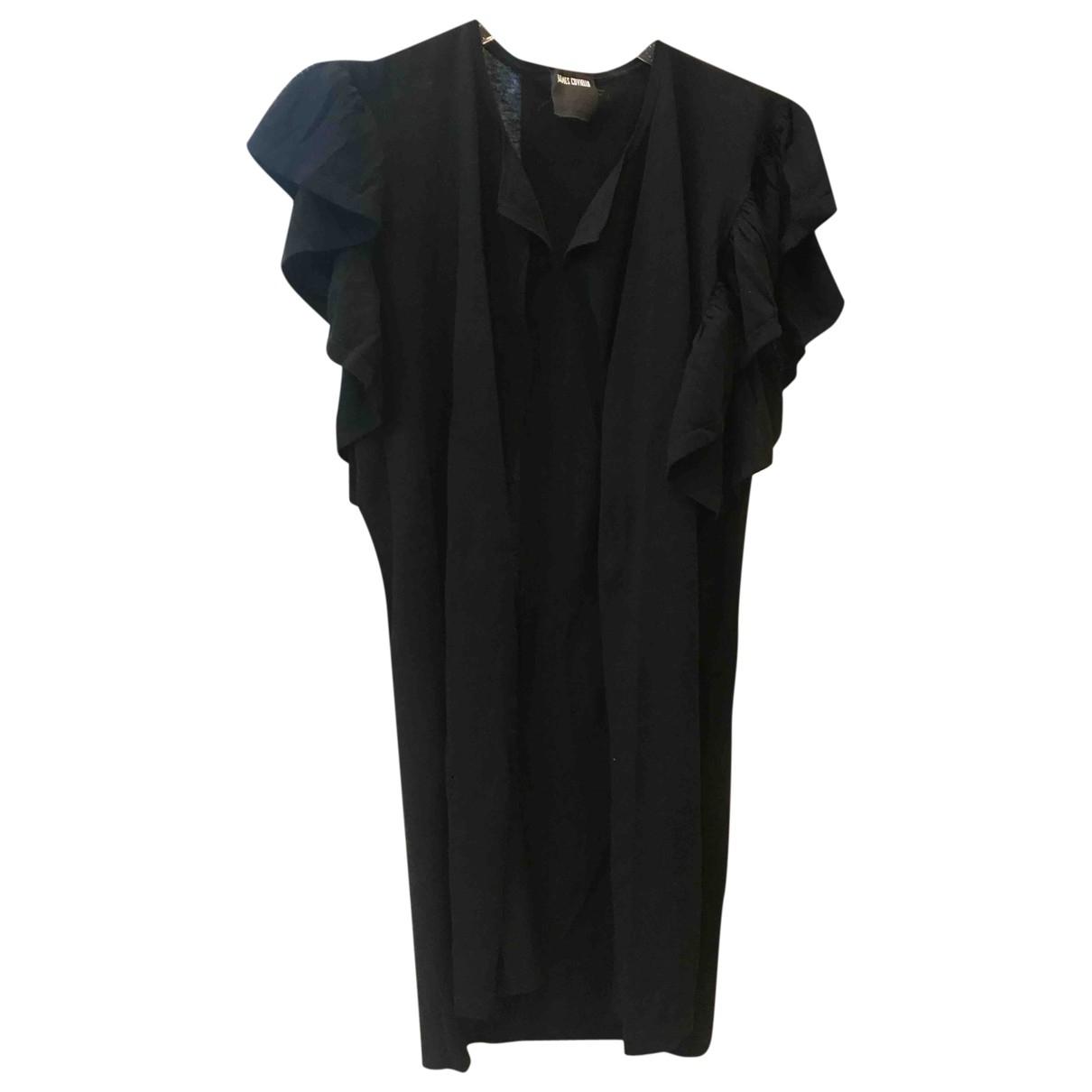 Anna Sui - Pull   pour femme en coton - noir