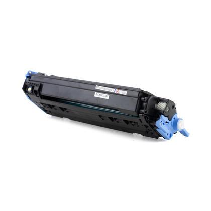 Compatible HP 124A Q6001A cartouche de toner cyan - Moustache
