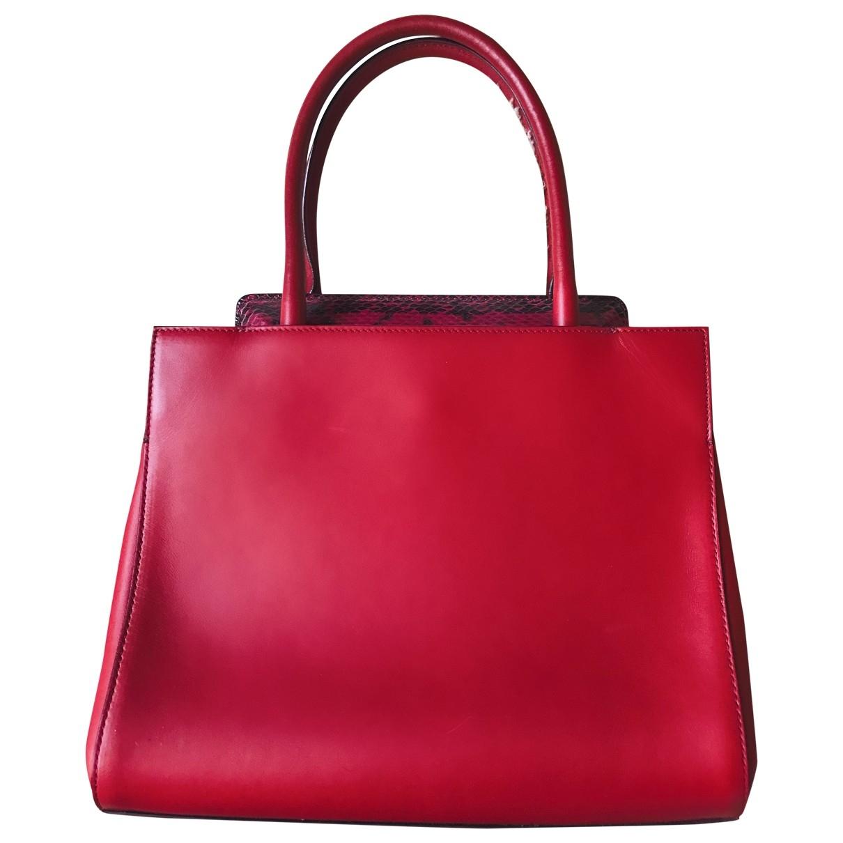 Max Mara \N Red Leather handbag for Women \N