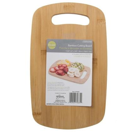 Bamboo Cutting Board for Cutting Vegetables, Meat, Fruits, Cheese, 25x15x1.1cm - L. Gourmet - Small