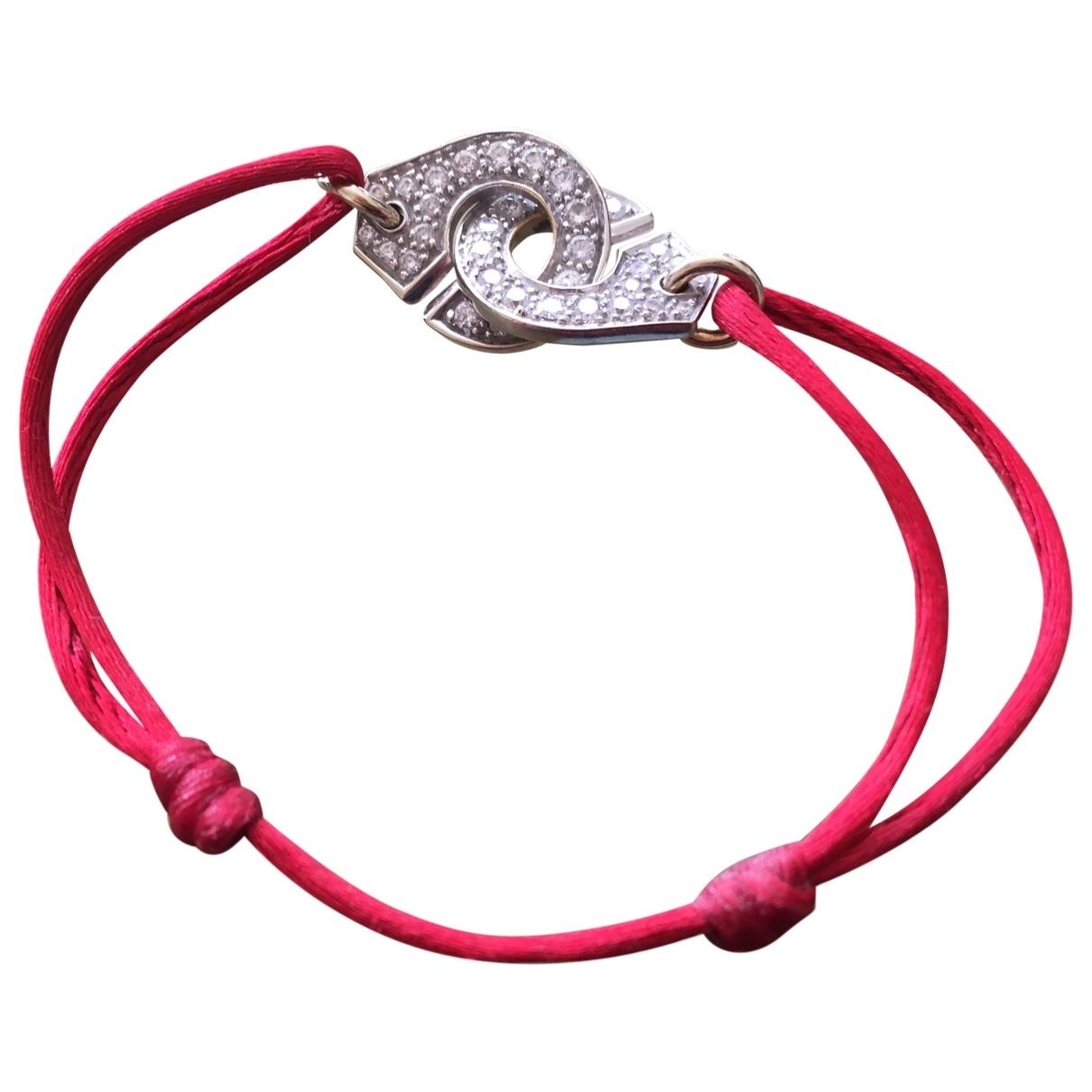Dinh Van - Bracelet Menottes  pour femme en or blanc - argente