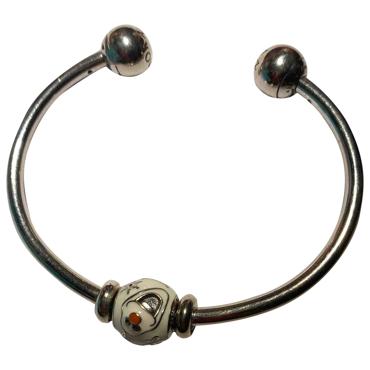 Pandora - Bracelet   pour femme en metal - blanc
