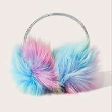 Tie Dye Fluffy Earmuffs