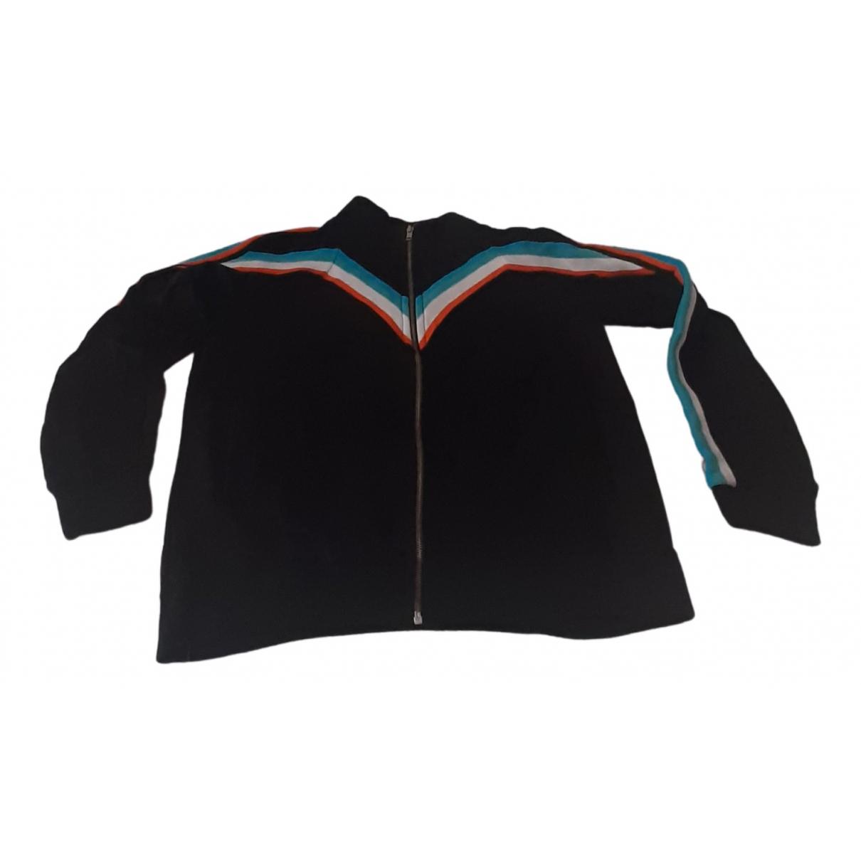 Maje Fall Winter 2019 Black Cotton jacket for Women 3 0-5