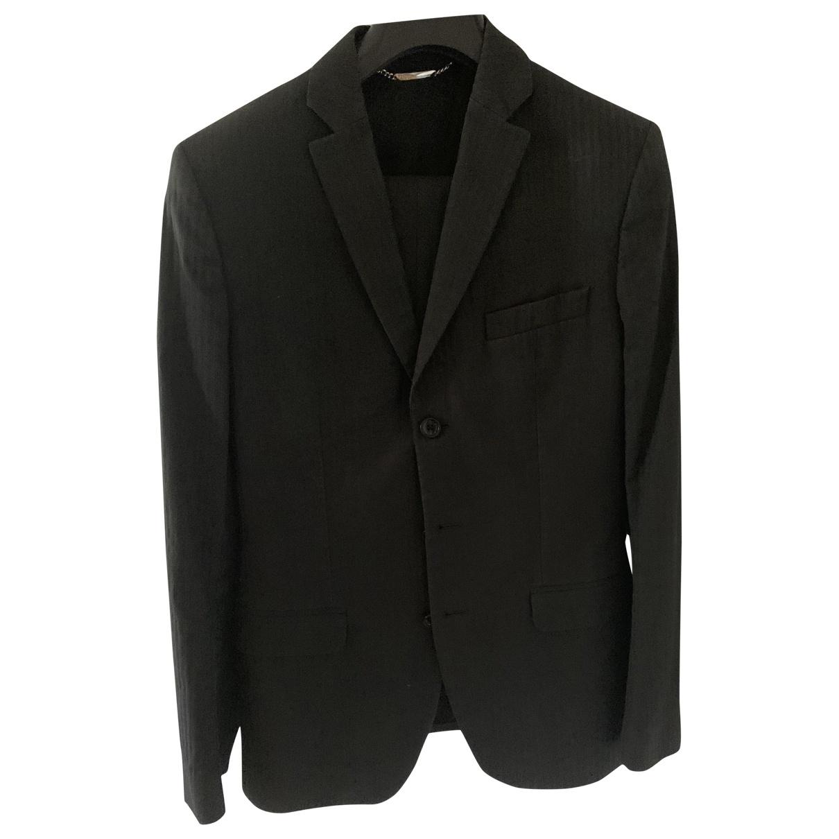 D&g \N Black Cotton Suits for Men 46 IT