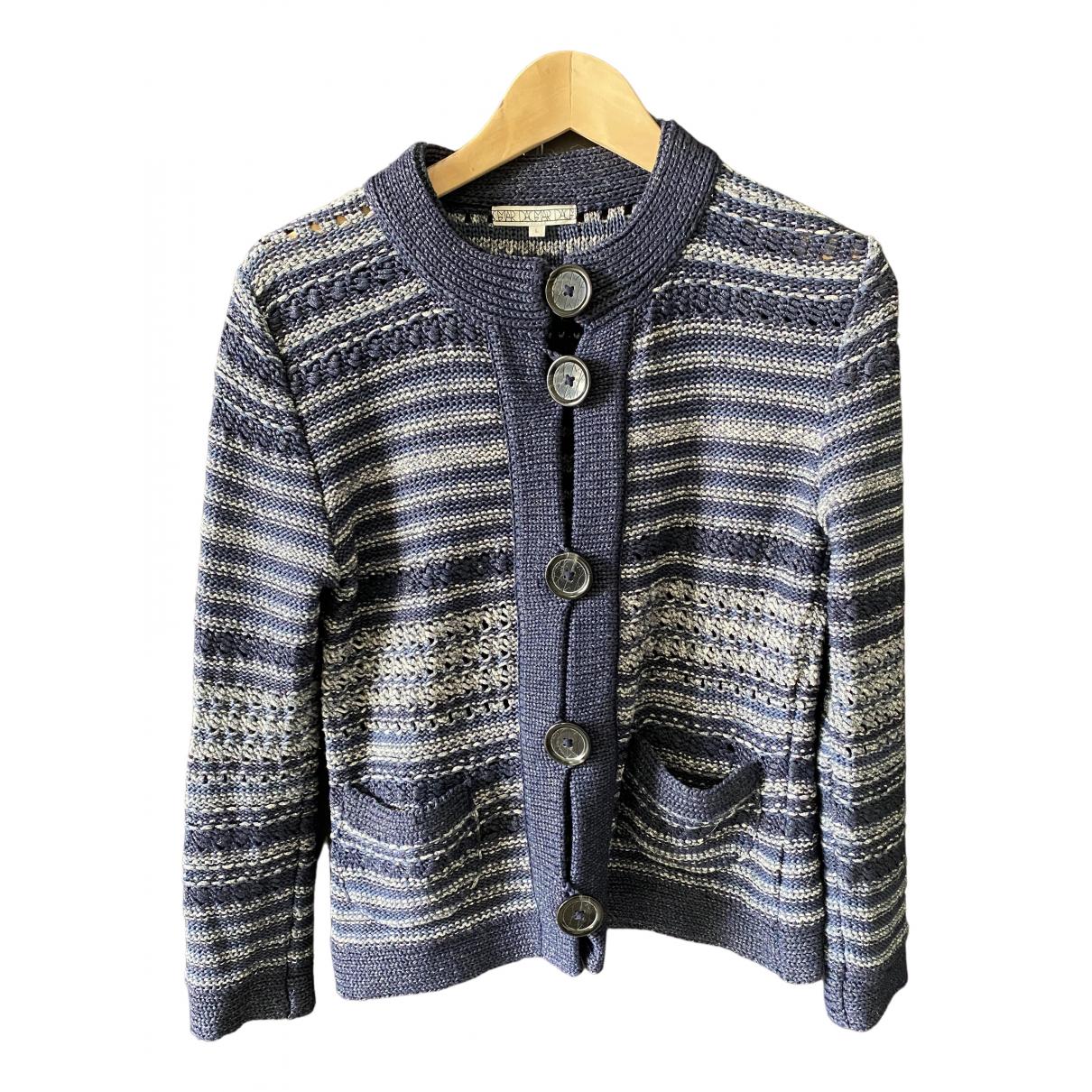 Dagmar - Pull   pour femme en coton - bleu