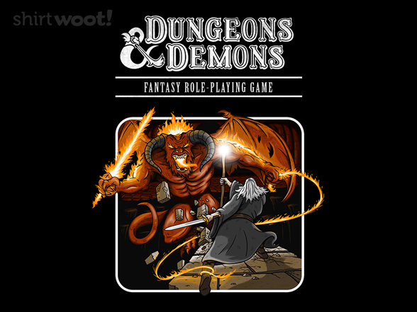 Dungeons And Demons T Shirt