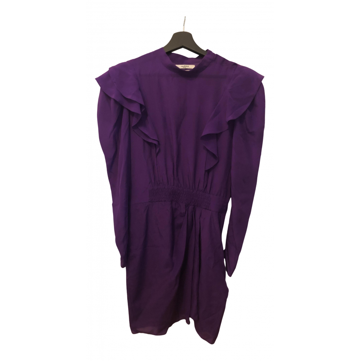 Isabel Marant Etoile \N Kleid in  Lila Seide