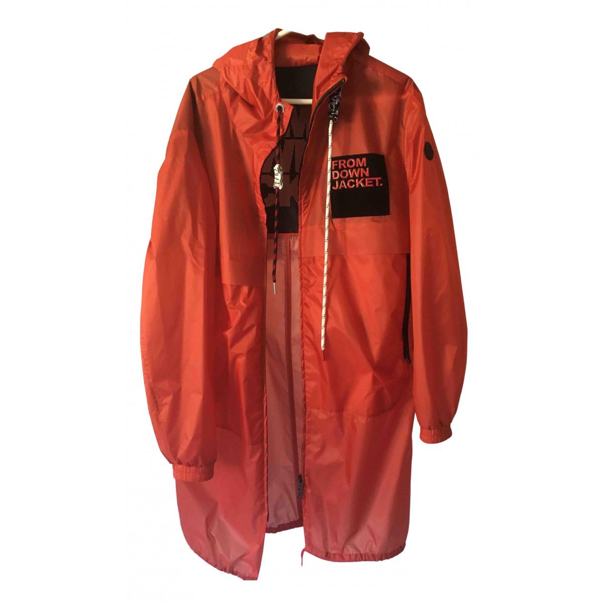 Moncler Hood Orange coat  for Men 3 0 - 6