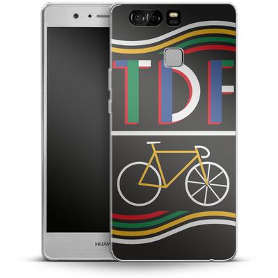 Huawei P9 Silikon Handyhuelle - TDF Bike von Le Tour de France