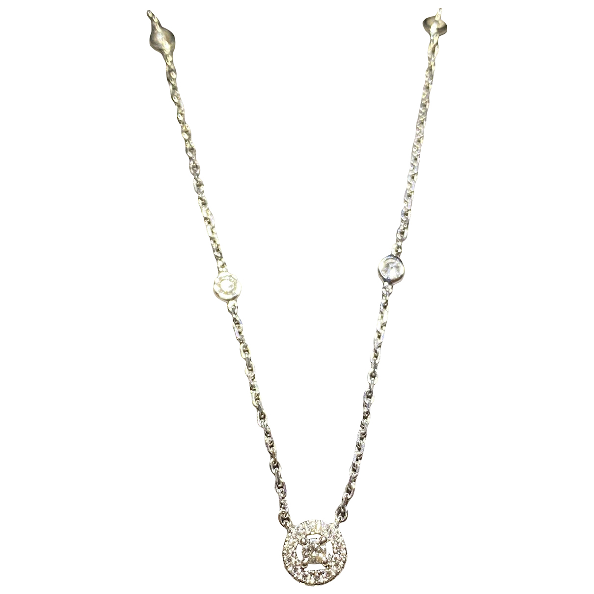 Messika - Collier Joy pour femme en or blanc - gris