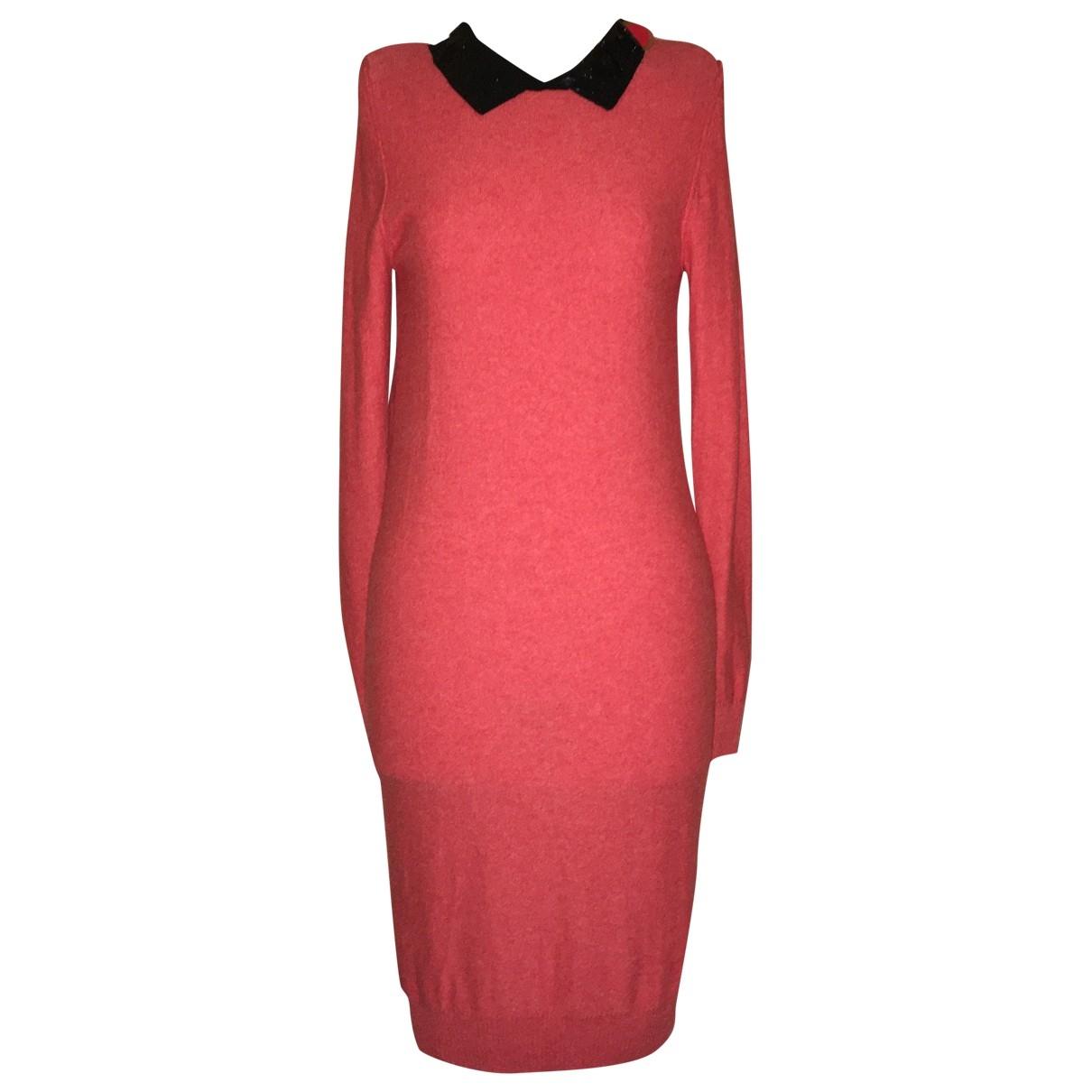 Sonia By Sonia Rykiel \N Kleid in  Rot Wolle