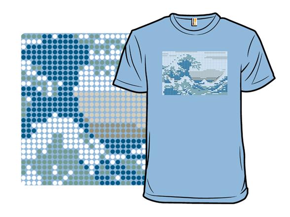 Dot Wave T Shirt