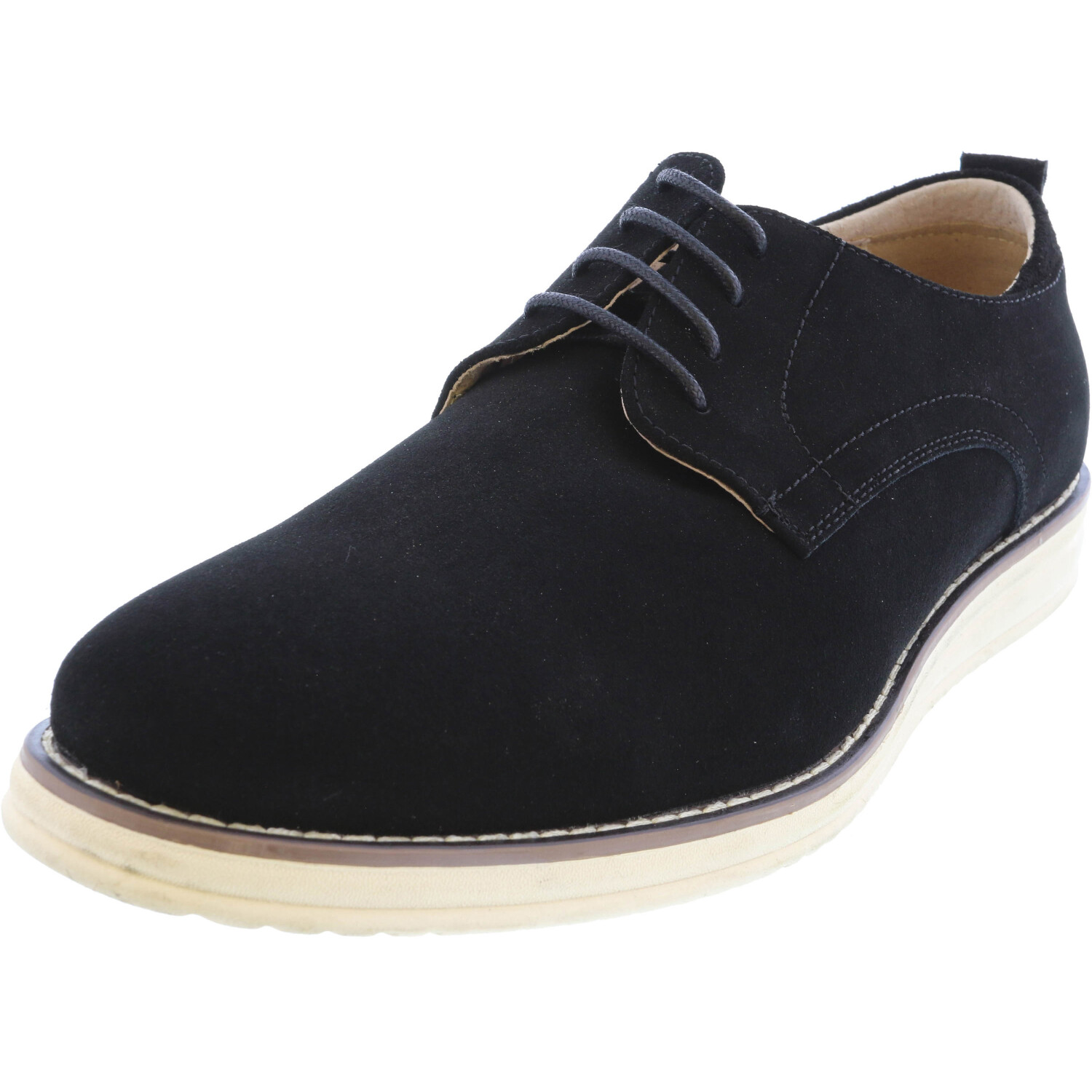 English Laundry Men's Nathan Black Ankle-High Leather Oxford - 10M
