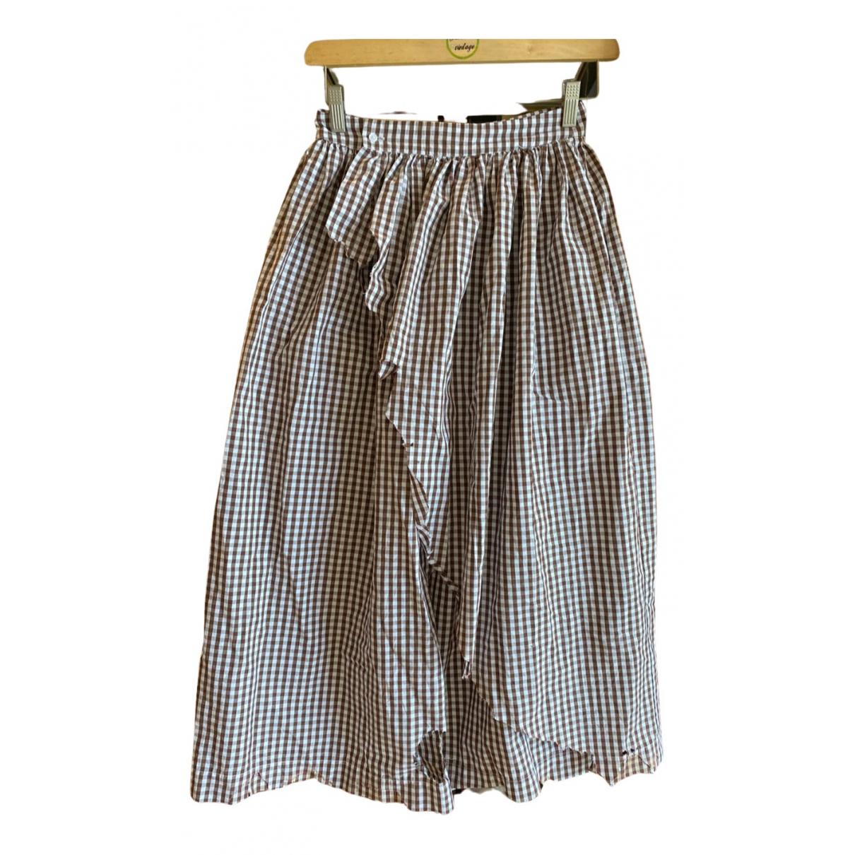 Ottolinger N Brown Cotton skirt for Women S International