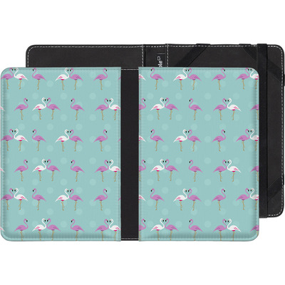 Kobo Glo eBook Reader Huelle - Two Flamingos von caseable Designs