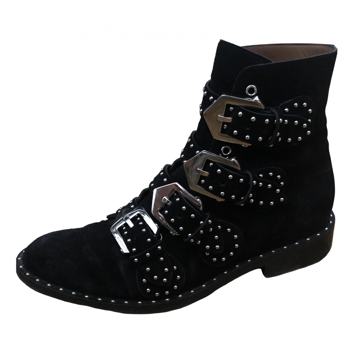 Givenchy \N Black Suede Ankle boots for Women 37 EU