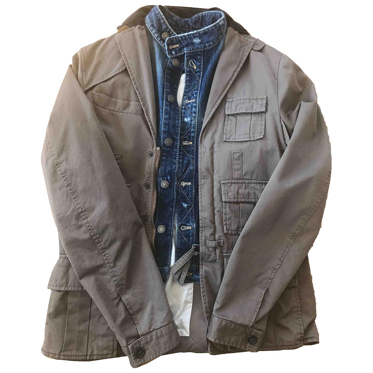 Dsquared2 \N Brown Cotton jacket  for Men 50 IT