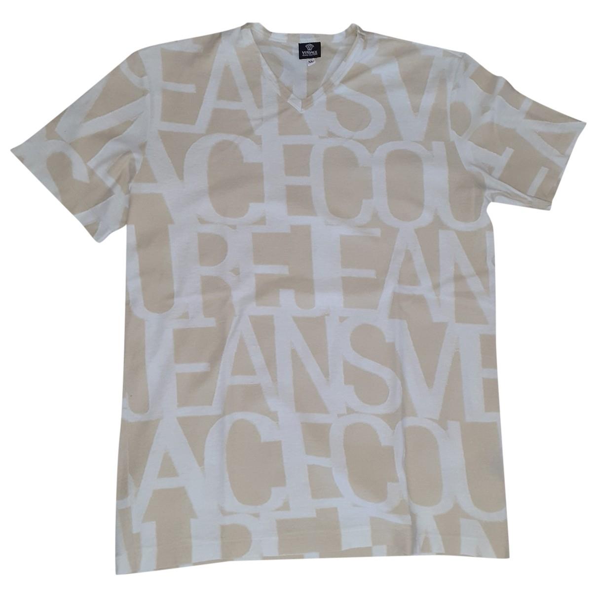 Versace Jeans \N T-Shirts in  Beige Baumwolle