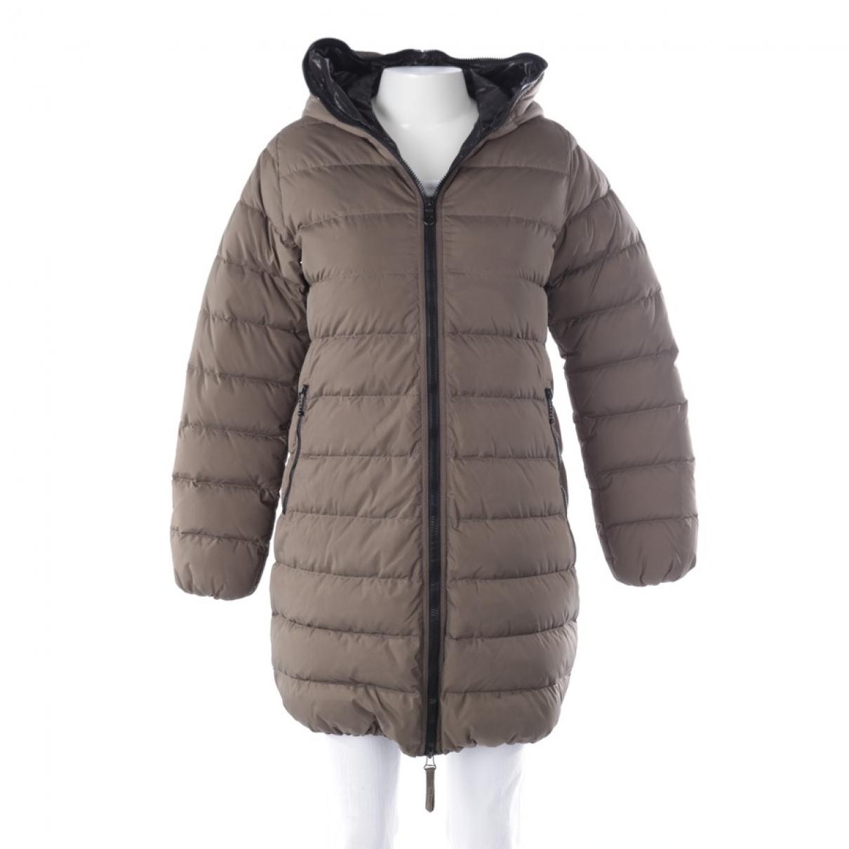 Duvetica \N Green coat for Women 38 FR