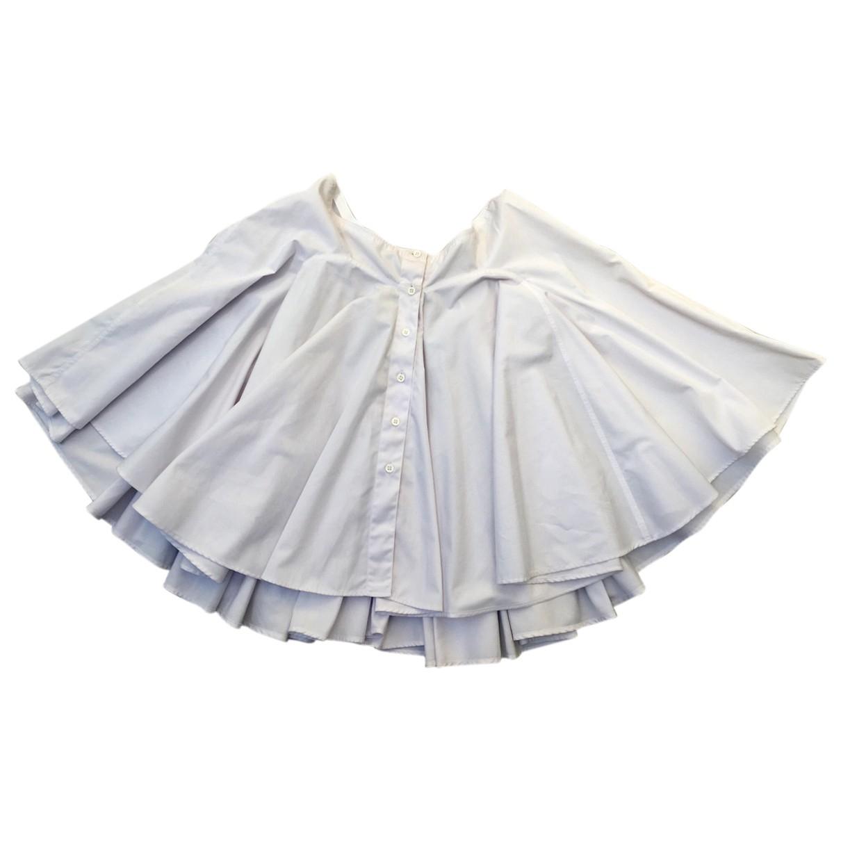 Alaïa \N White Cotton skirt for Women S International